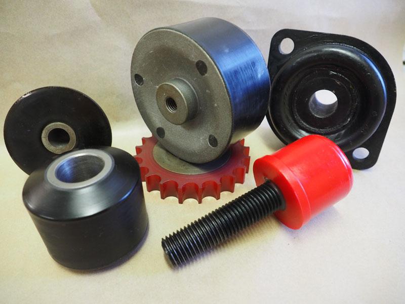 Bonded Polyurethane Parts